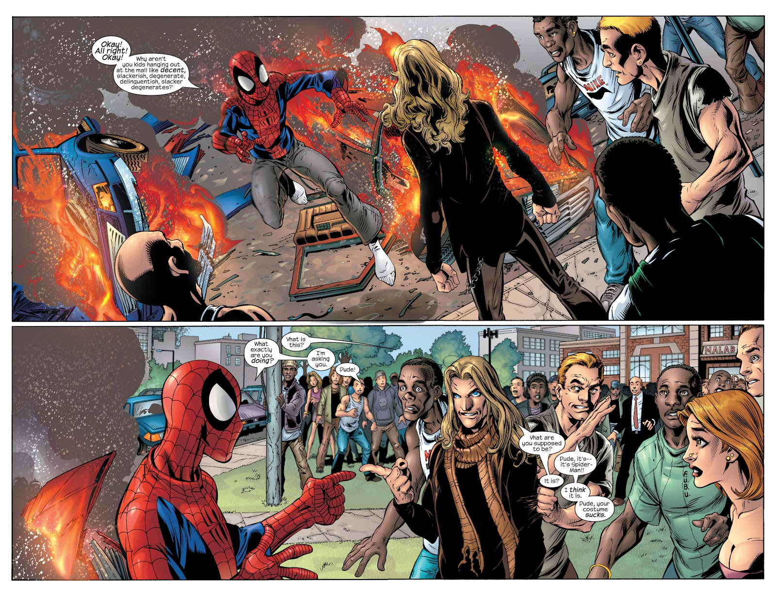 Ultimate Spider-Man Ultimate Collection Vol 4 review