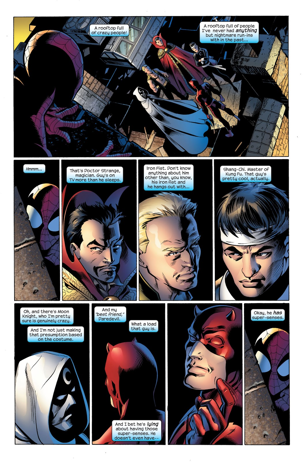 Ultimate Spider-Man V18 Ultimate Knights review