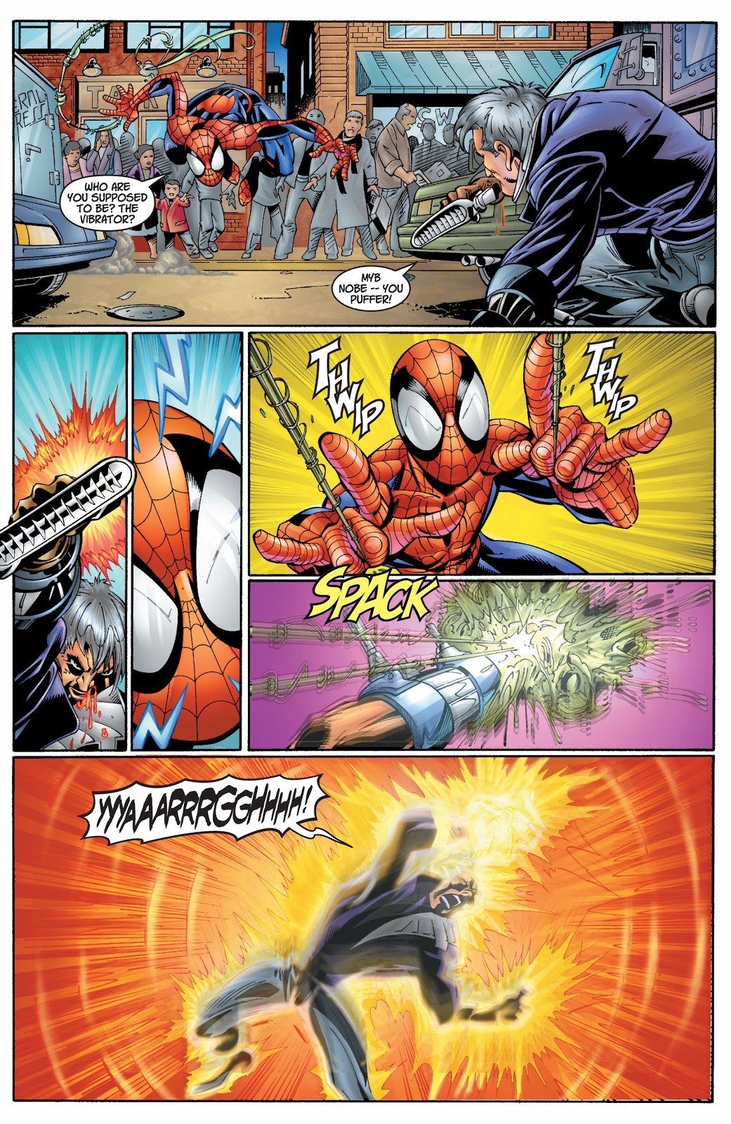 Ultimate Spider-Man Vol2 Learning Curve review