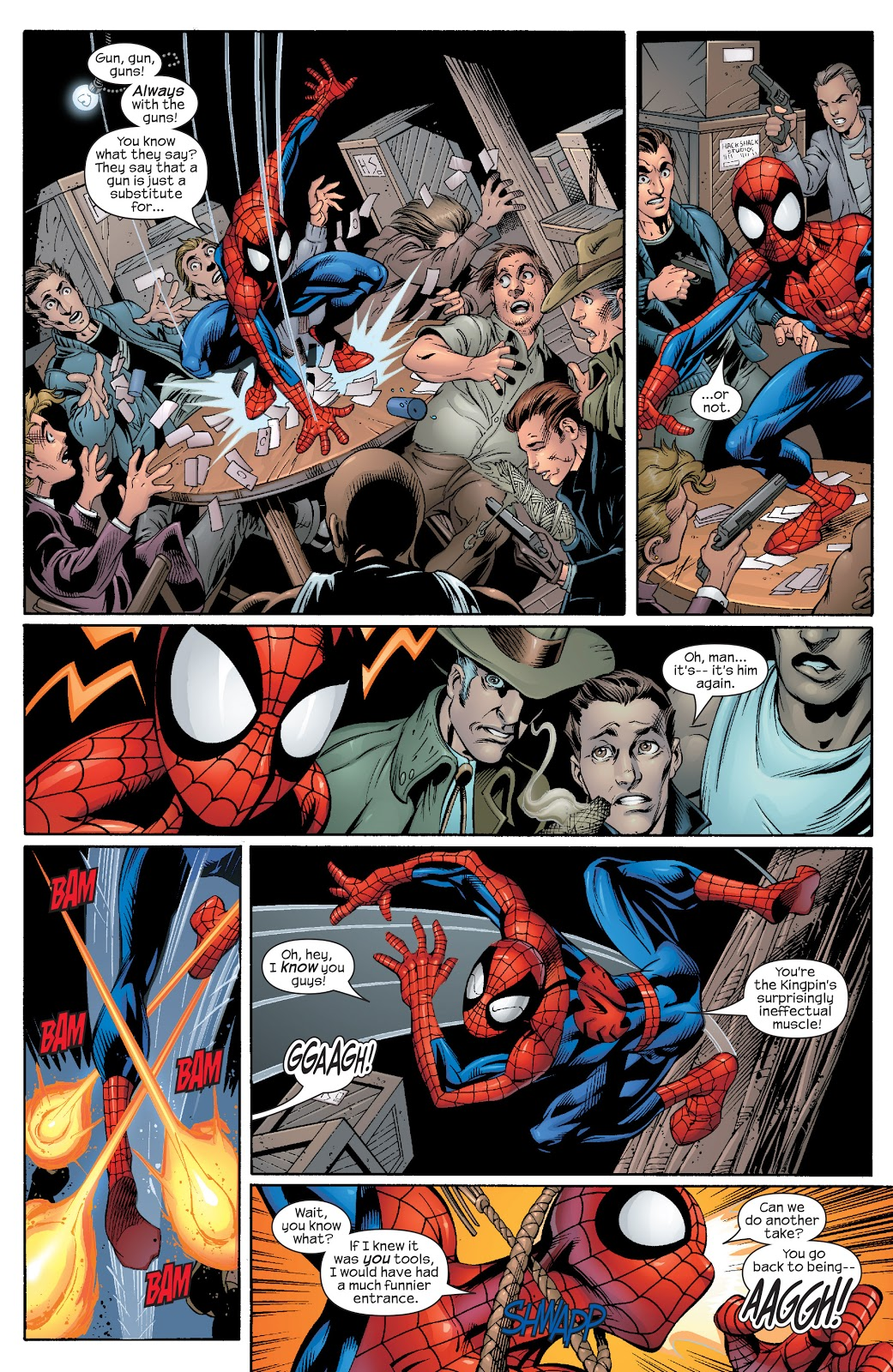 Ultimate Spider-Man Vol 8 Cats & Kings