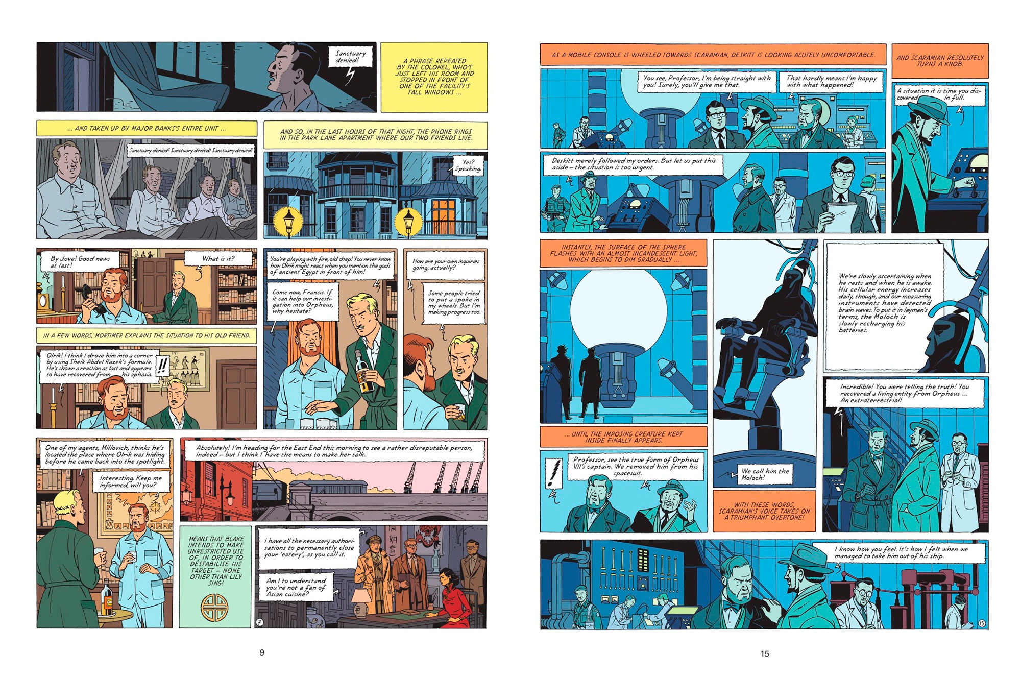 Blake & Mortimer The Call of theMoloch review