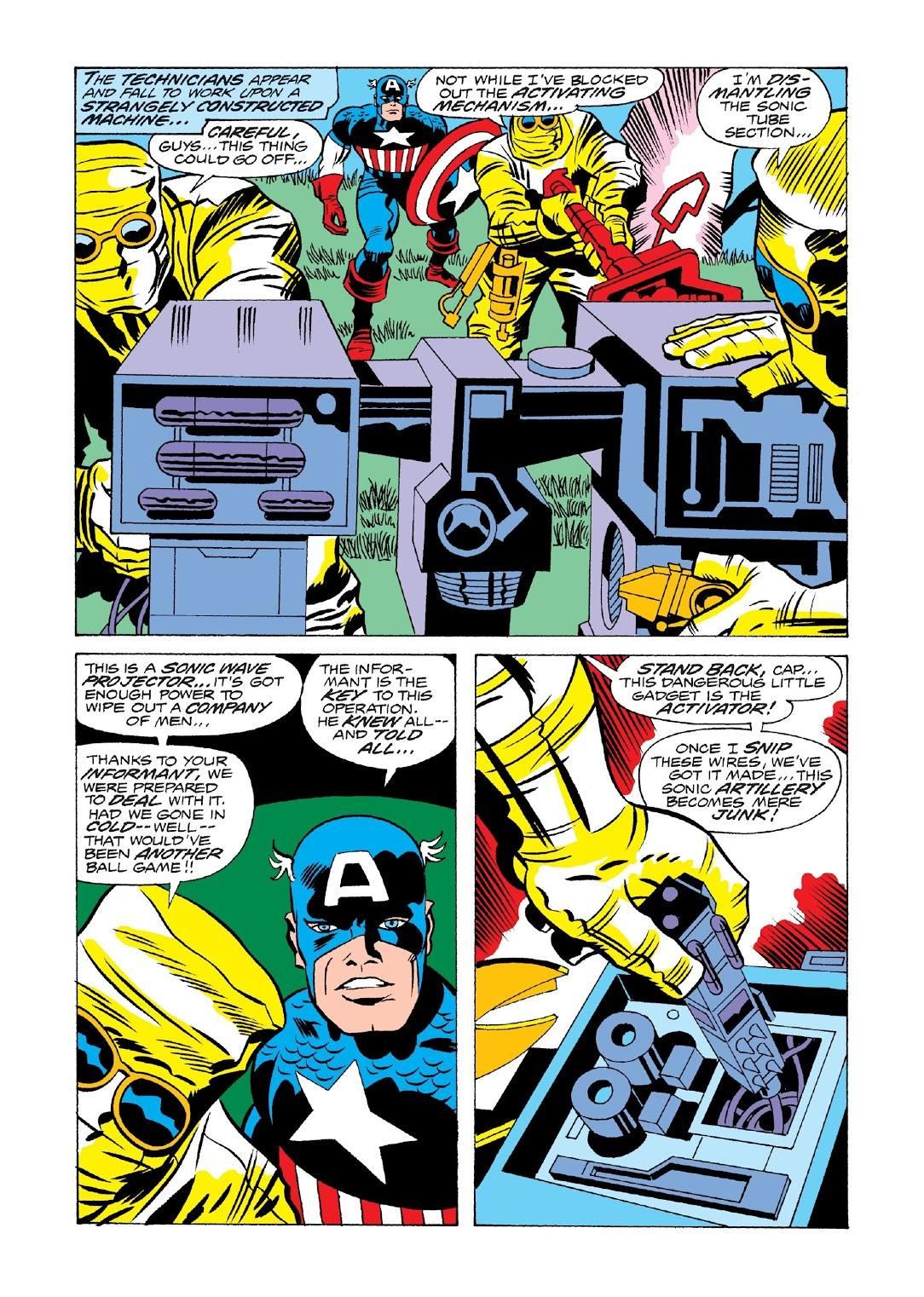 Captain America Madbomb review