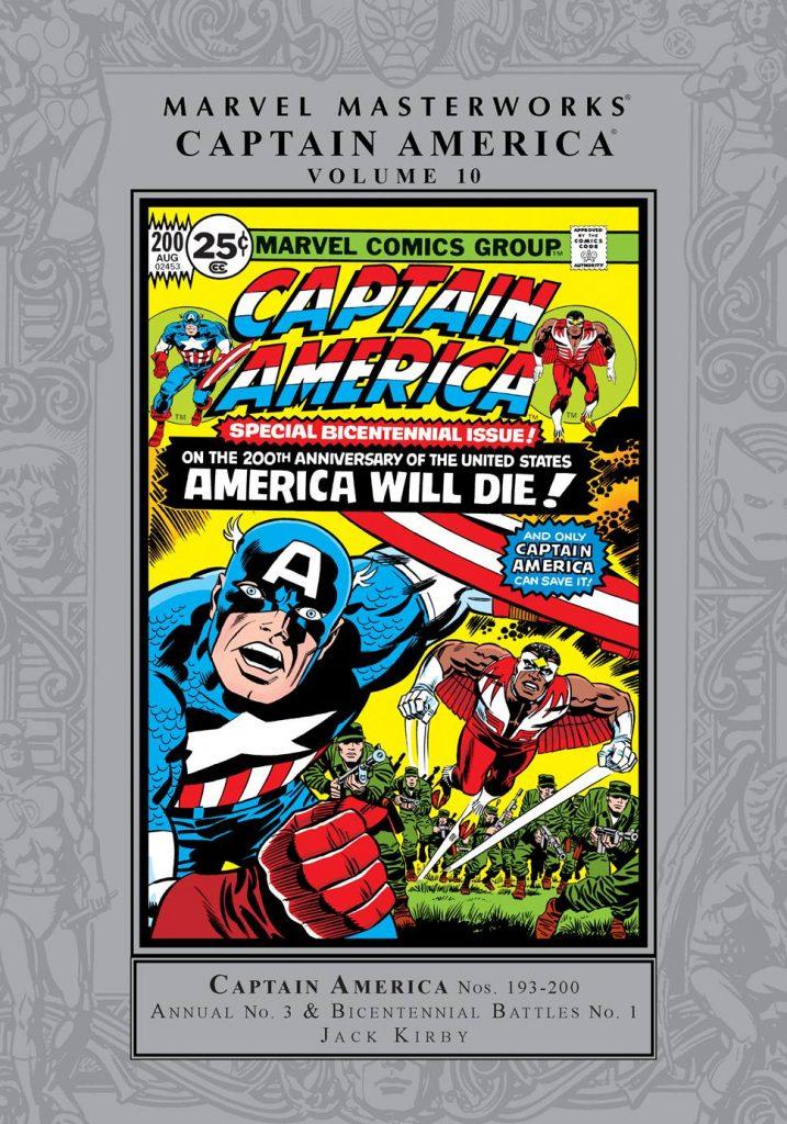 Marvel Masterworks: Captain America Volume 10