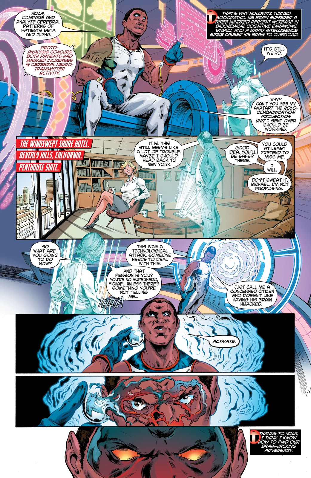 Mister Terrific Mind Games review