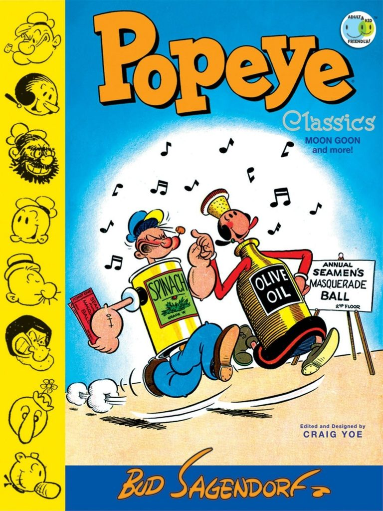 Popeye Classics Volume Two: Moon Goon and More