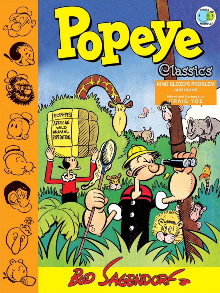 Popeye Classics Volume Four: King Blozo's Problem and More