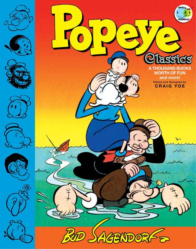Popeye Classics Volume Five: A Thousand Bucks of Fun and More
