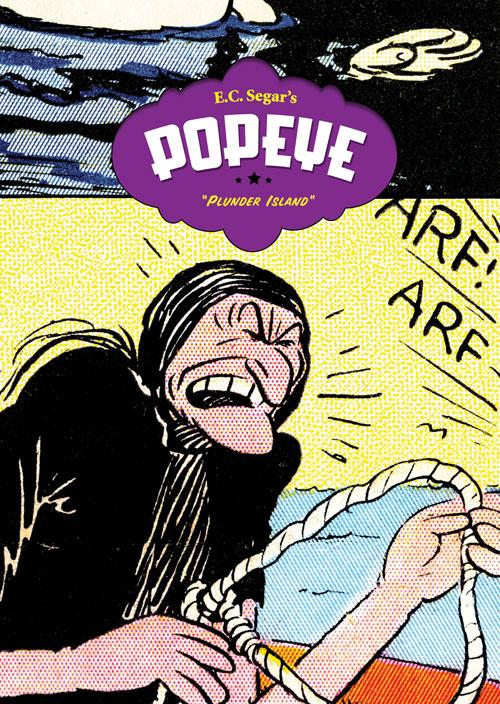 "E. C. Segar's Popeye Vol. 4: ""Plunder Island"""
