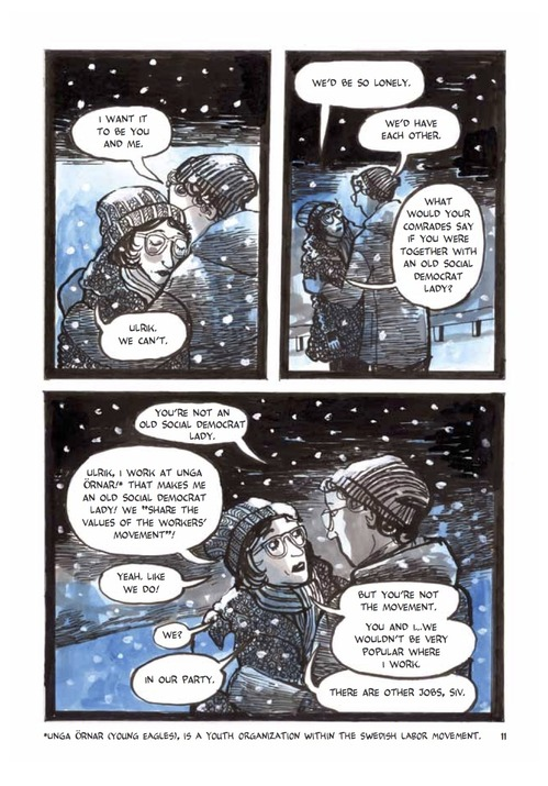 Red Winter graphic novel review