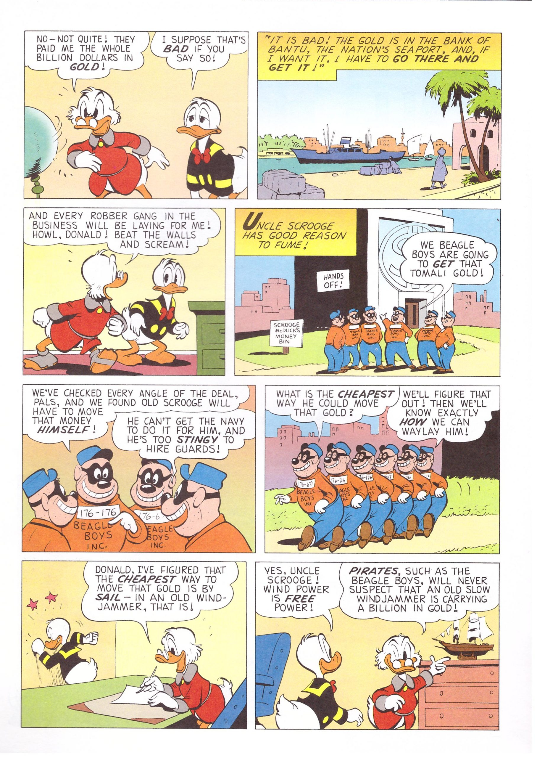 Uncle Scrooge Adventures by Carl Barks in Color 31 review