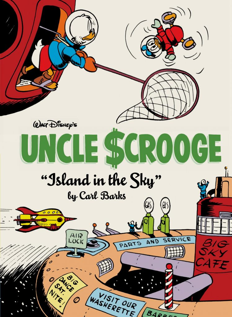 Uncle Scrooge by Carl Barks: Island in the Sky
