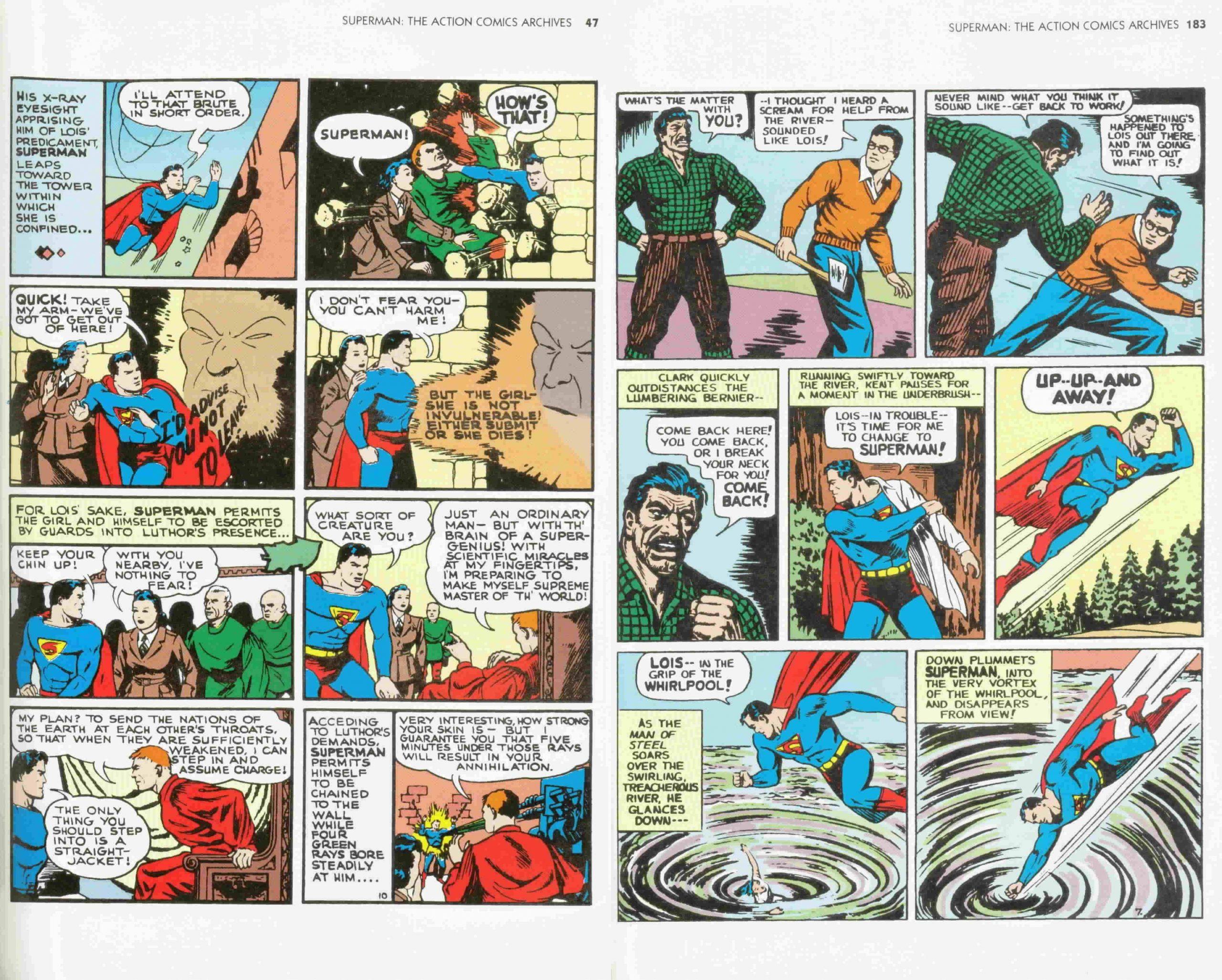 Action Comics Archives Volume 2 review