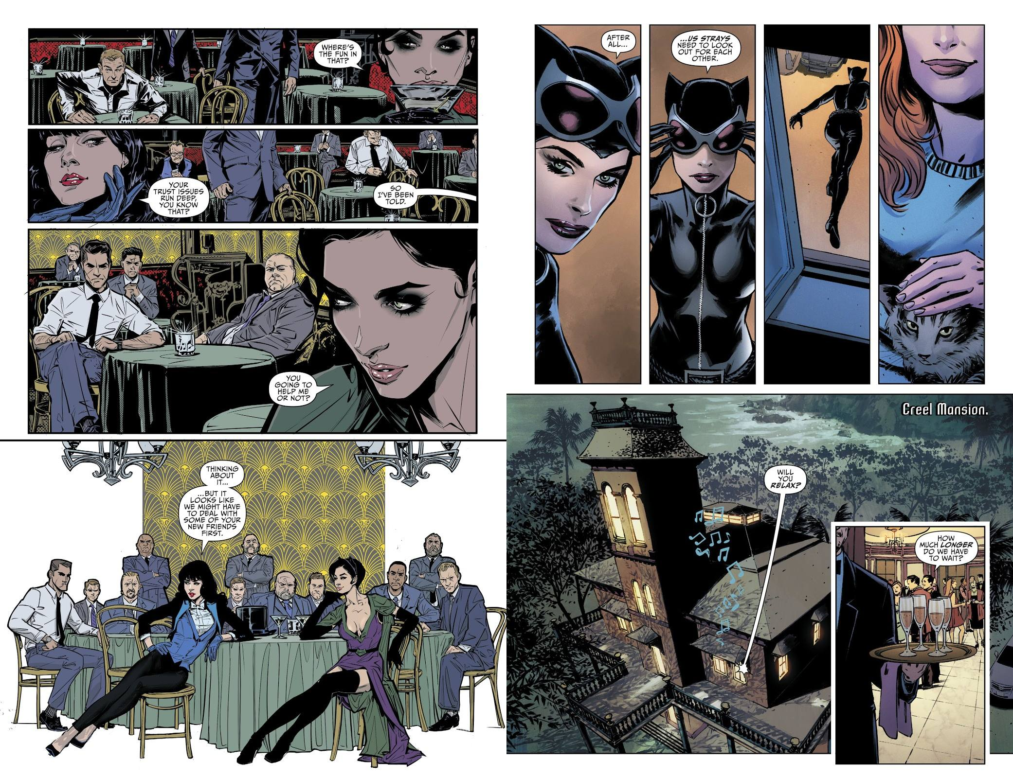 Catwoman Friend or Foe review