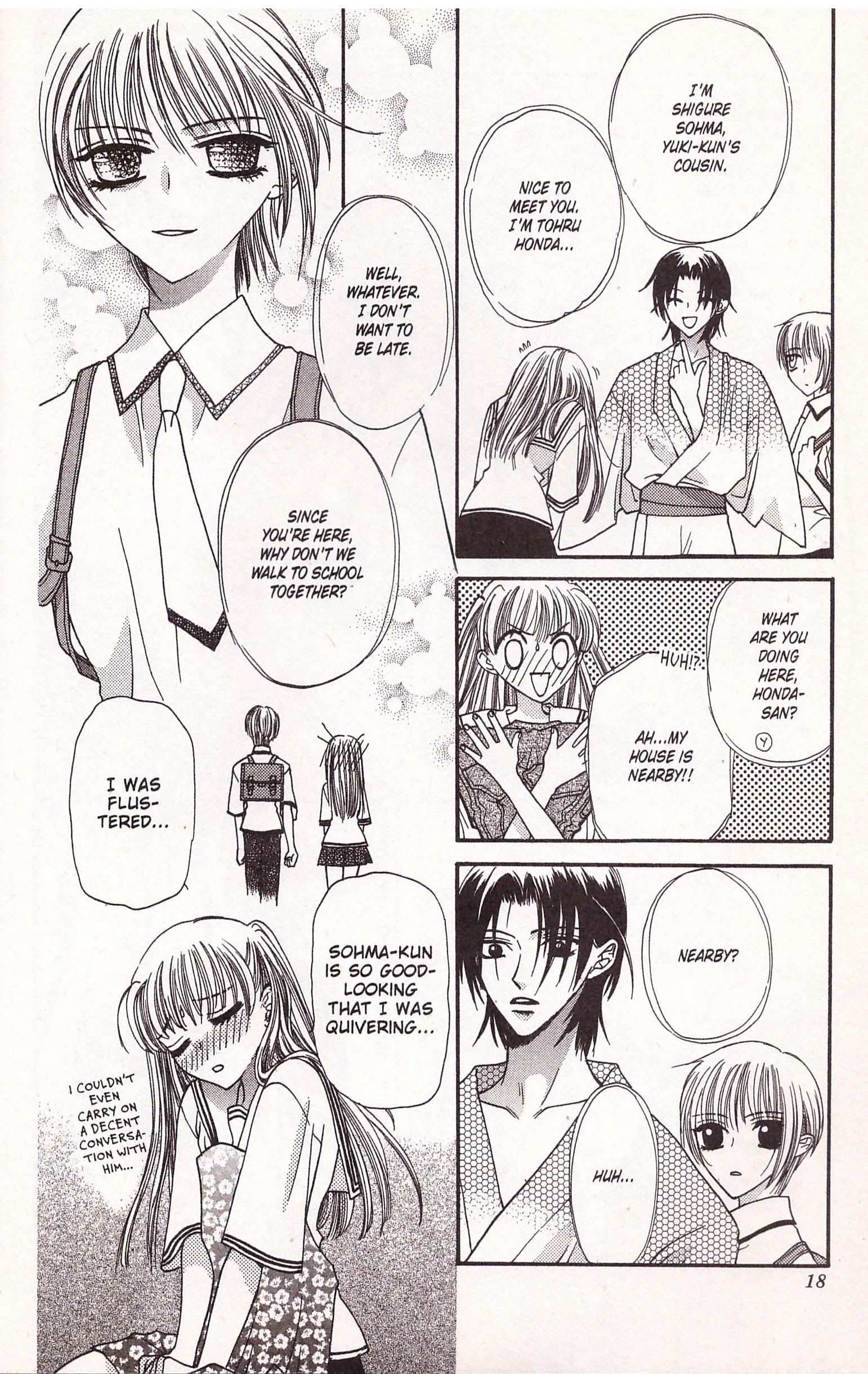 Fruits Basket 1 review