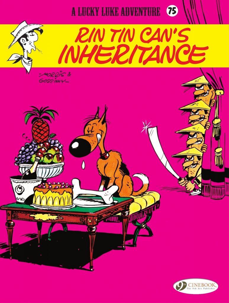 Lucky Luke: Rin Tin Can's Inheritance