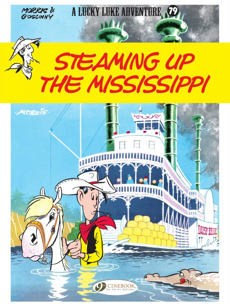 Lucky Luke: Steaming Up the Mississippi