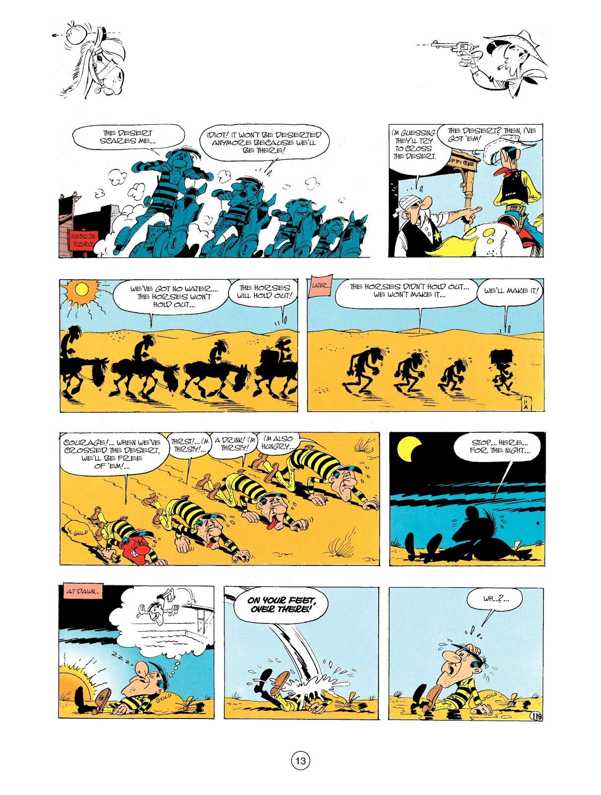 Lucky Luke the Daltons Always on the Run review