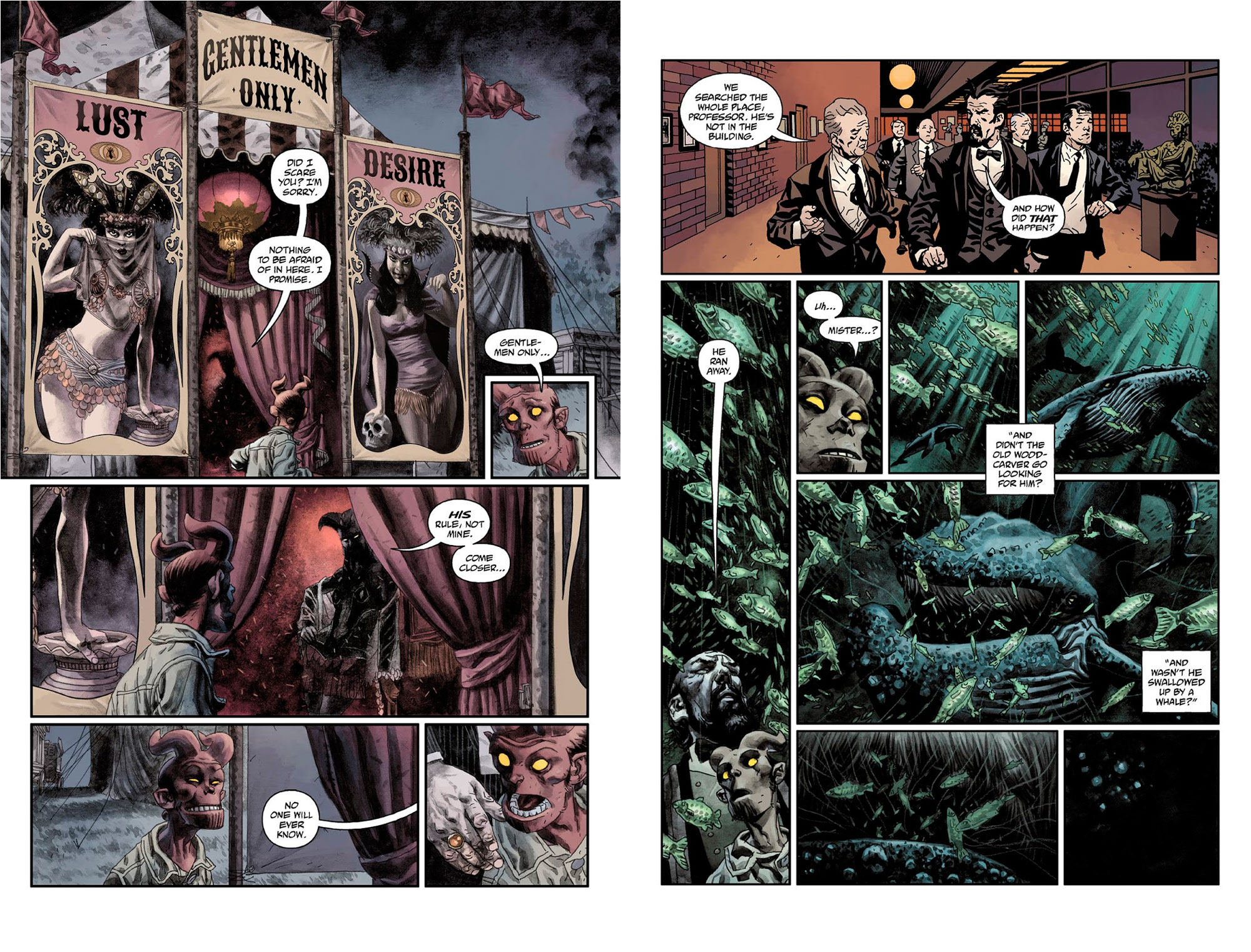 Hellboy midnight circus review