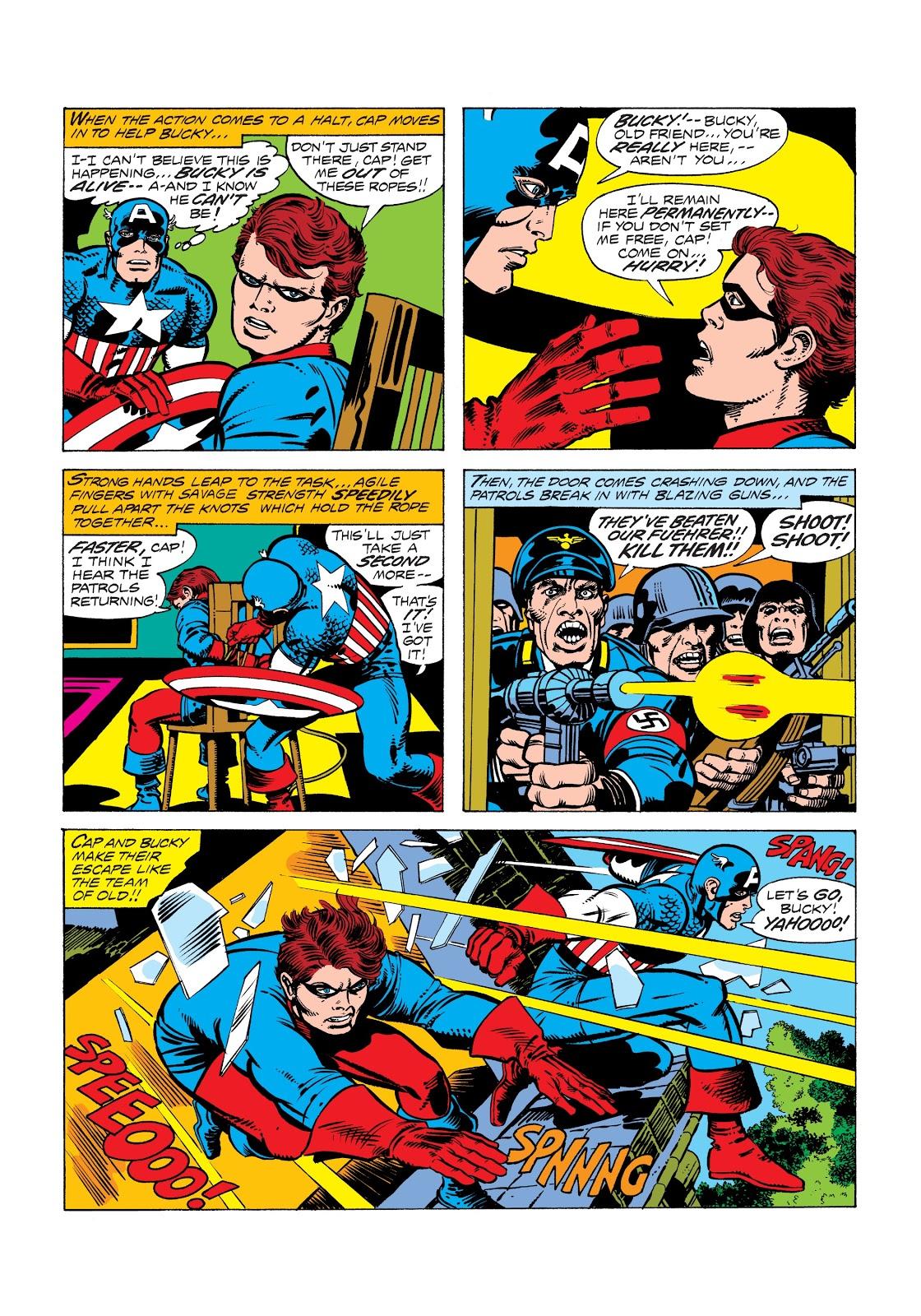 Captain America's Bicentennial Battles review