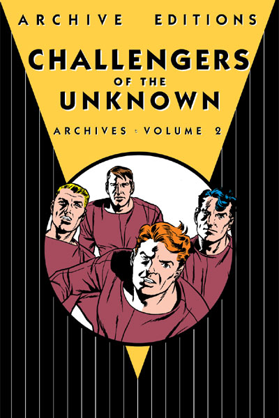 Challengers of the Unknown Archives Volume 2