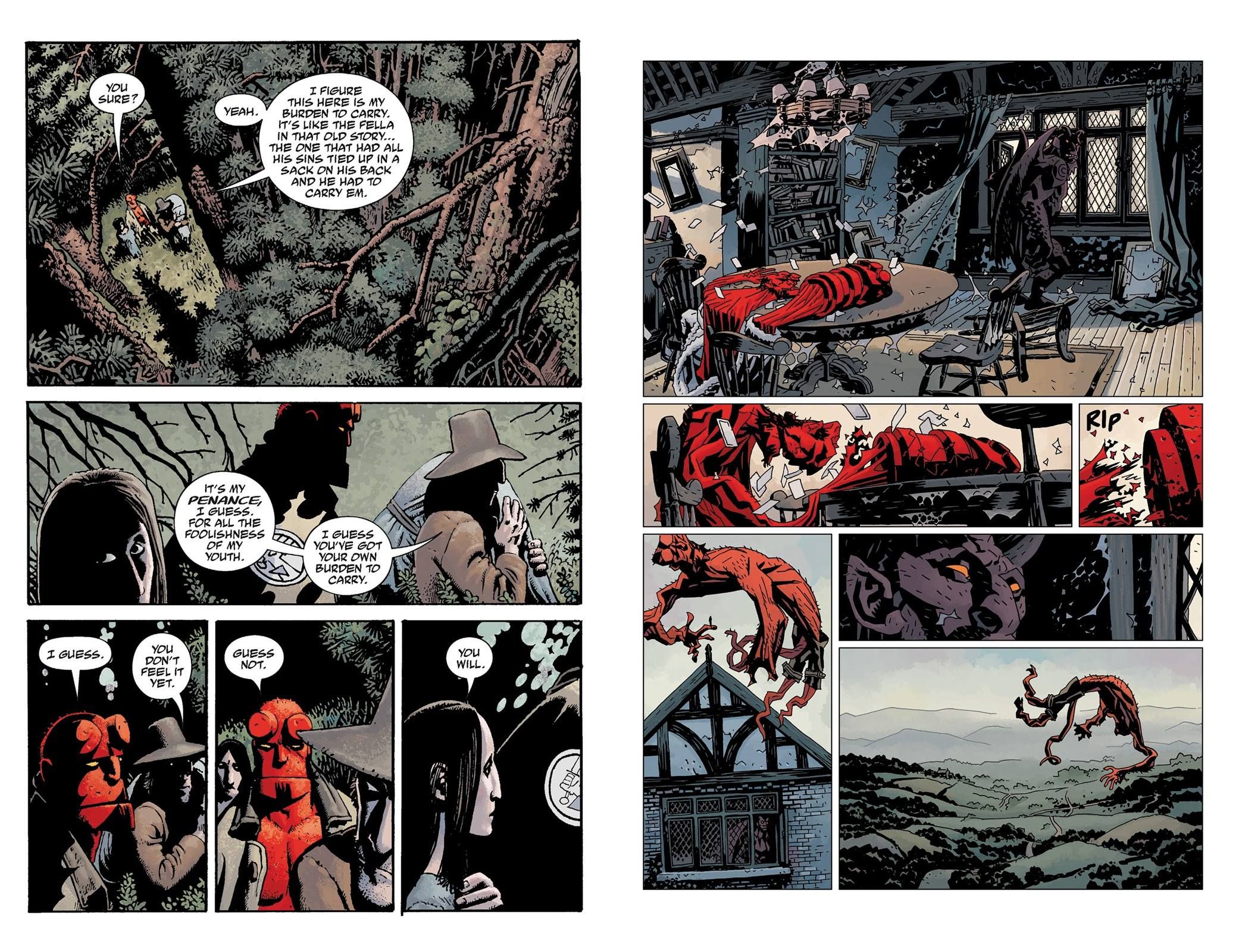 Hellboy The Crooked Man and Others review