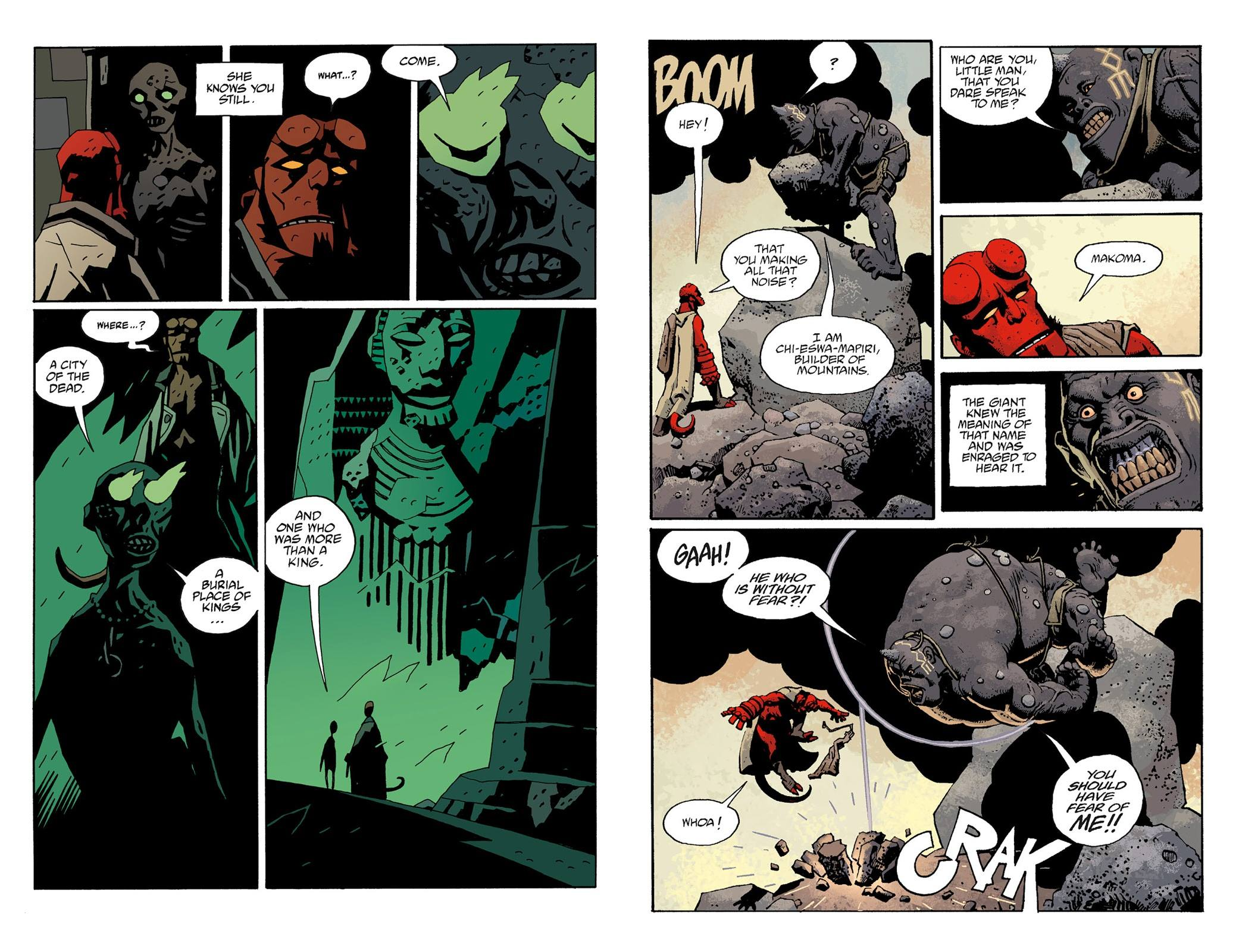 Hellboy The Troll Witch and Others review
