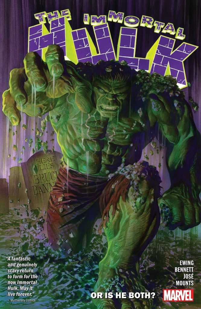 The Immortal Hulk: Or is He Both?