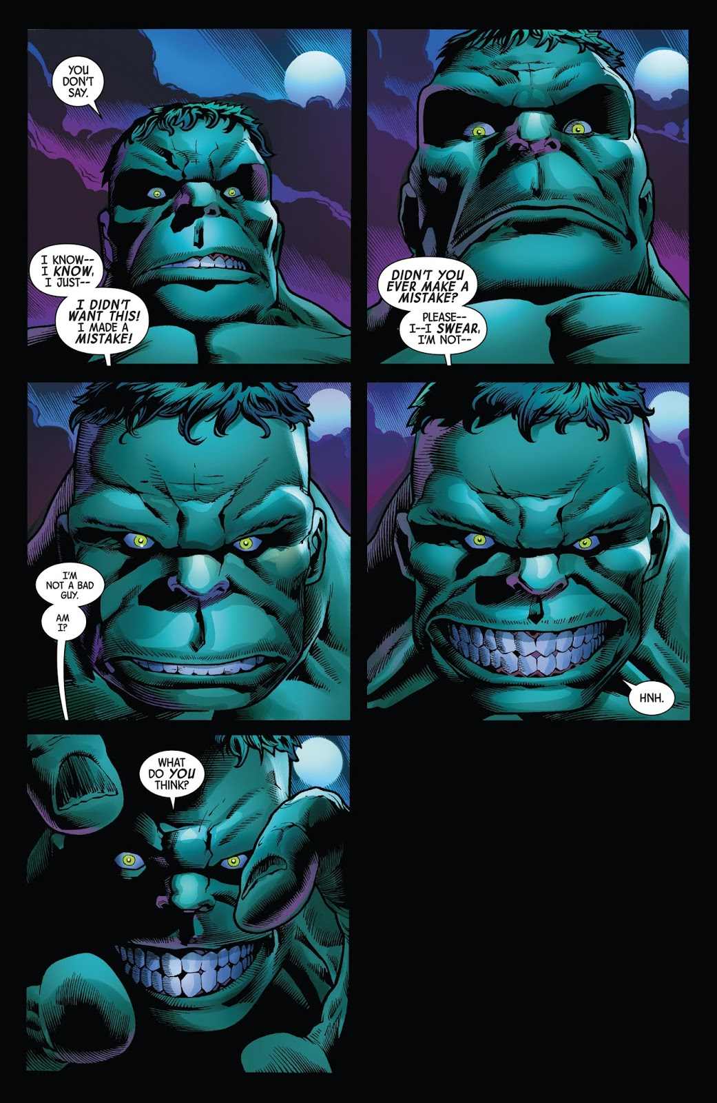 Immortal Hulk Or Is He Both? review