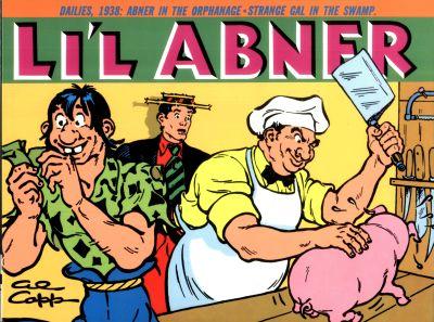 Li'l Abner Volume Four: Dailies 1938