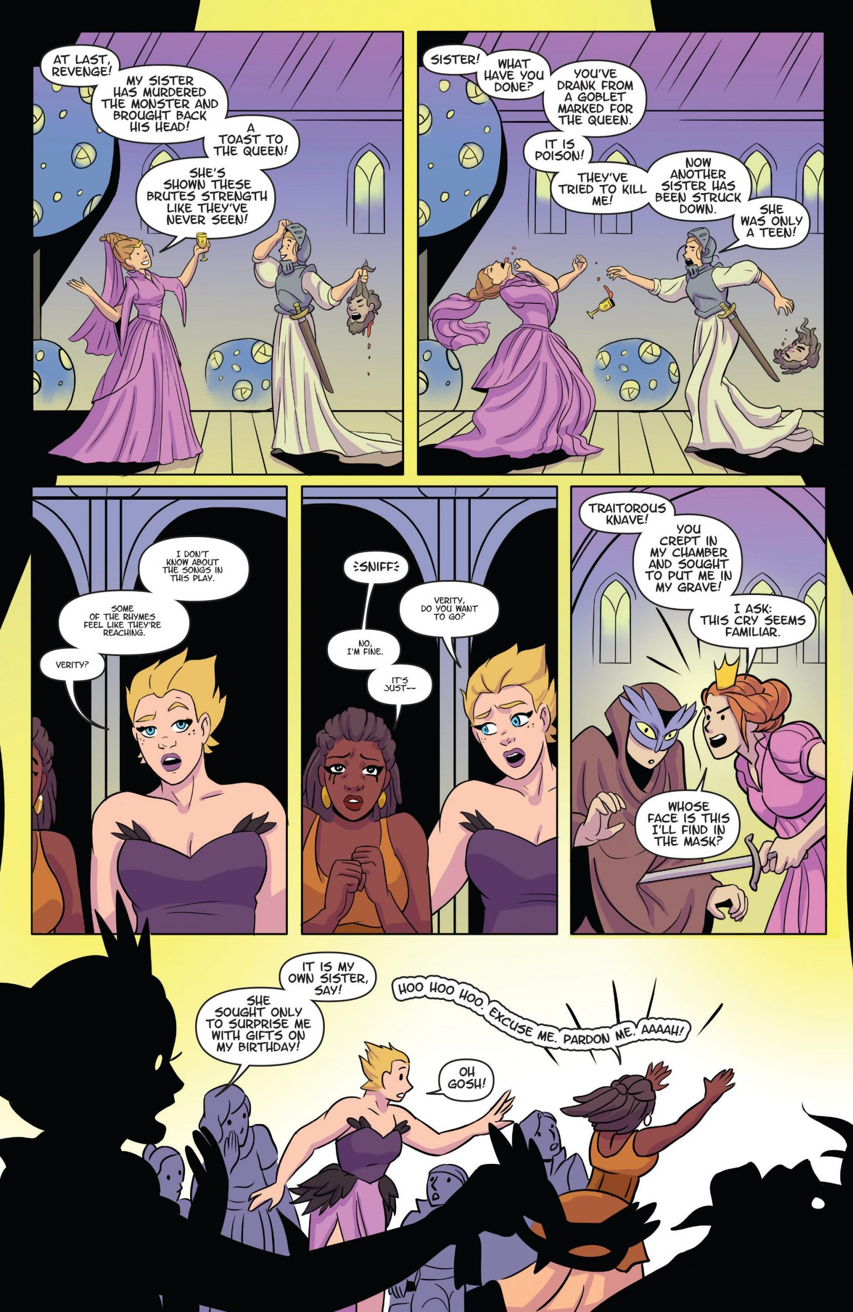 Raven - The Pirate Princess v07 - Date Night review