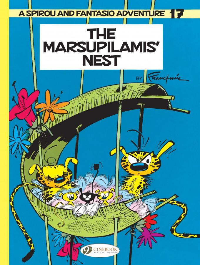 Spirou and Fantasio: The Marsupilami's Nest