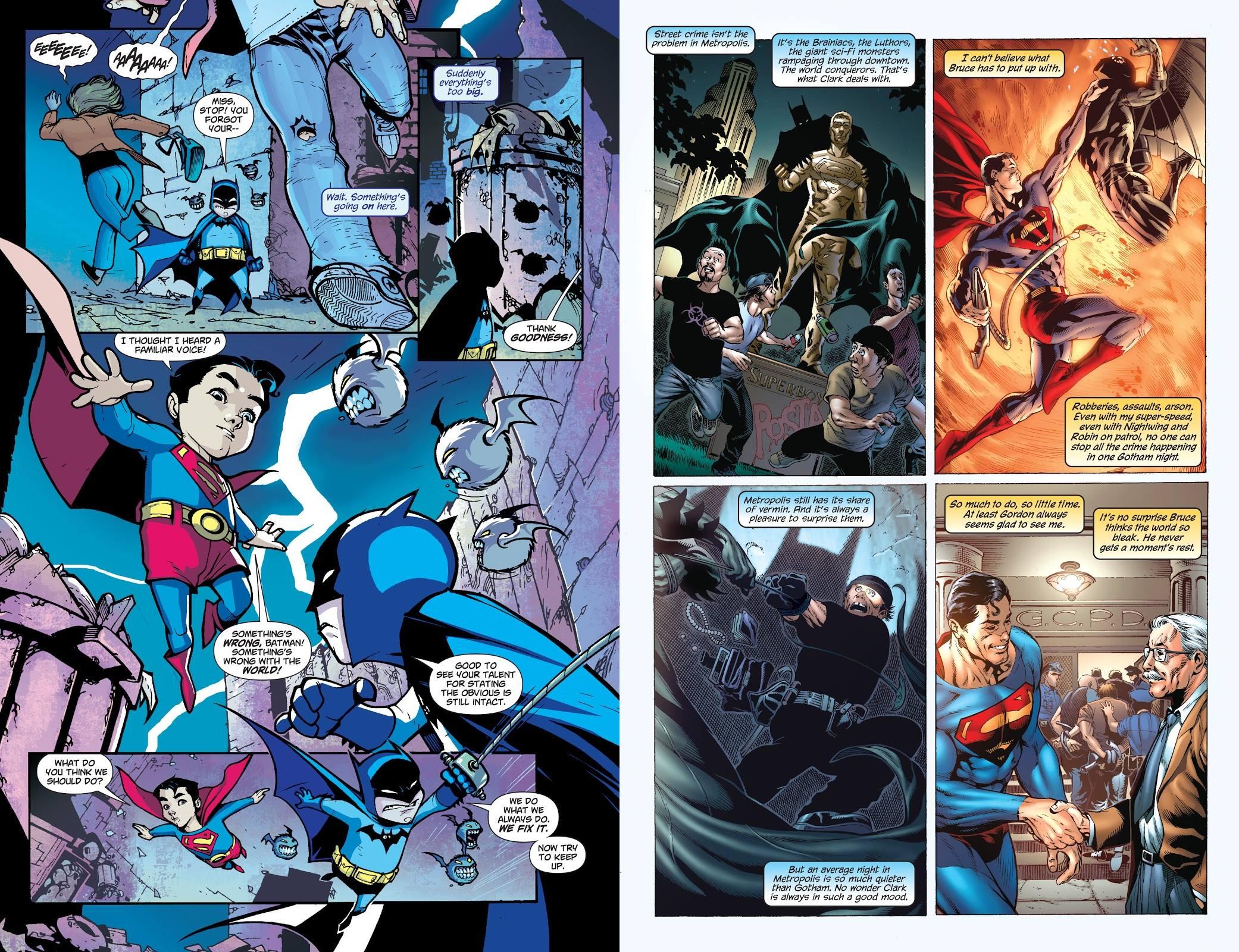 Superman Batman Finest Worlds review