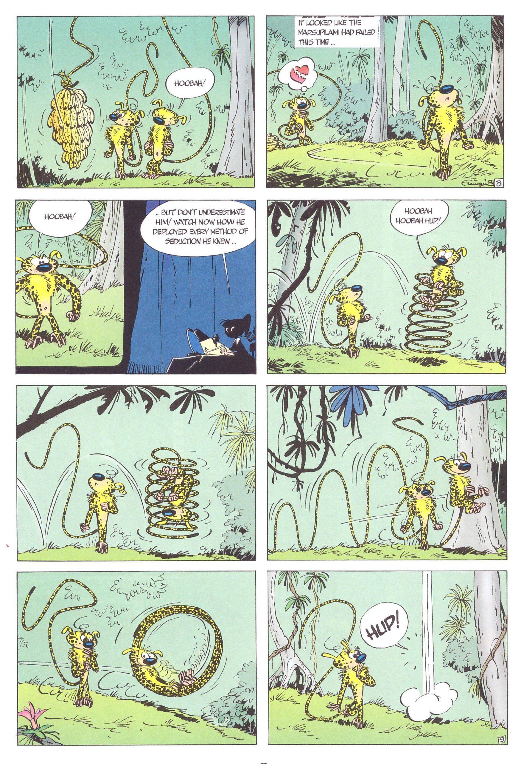 Spirou and Fantasio The Marsupilami's Nest review