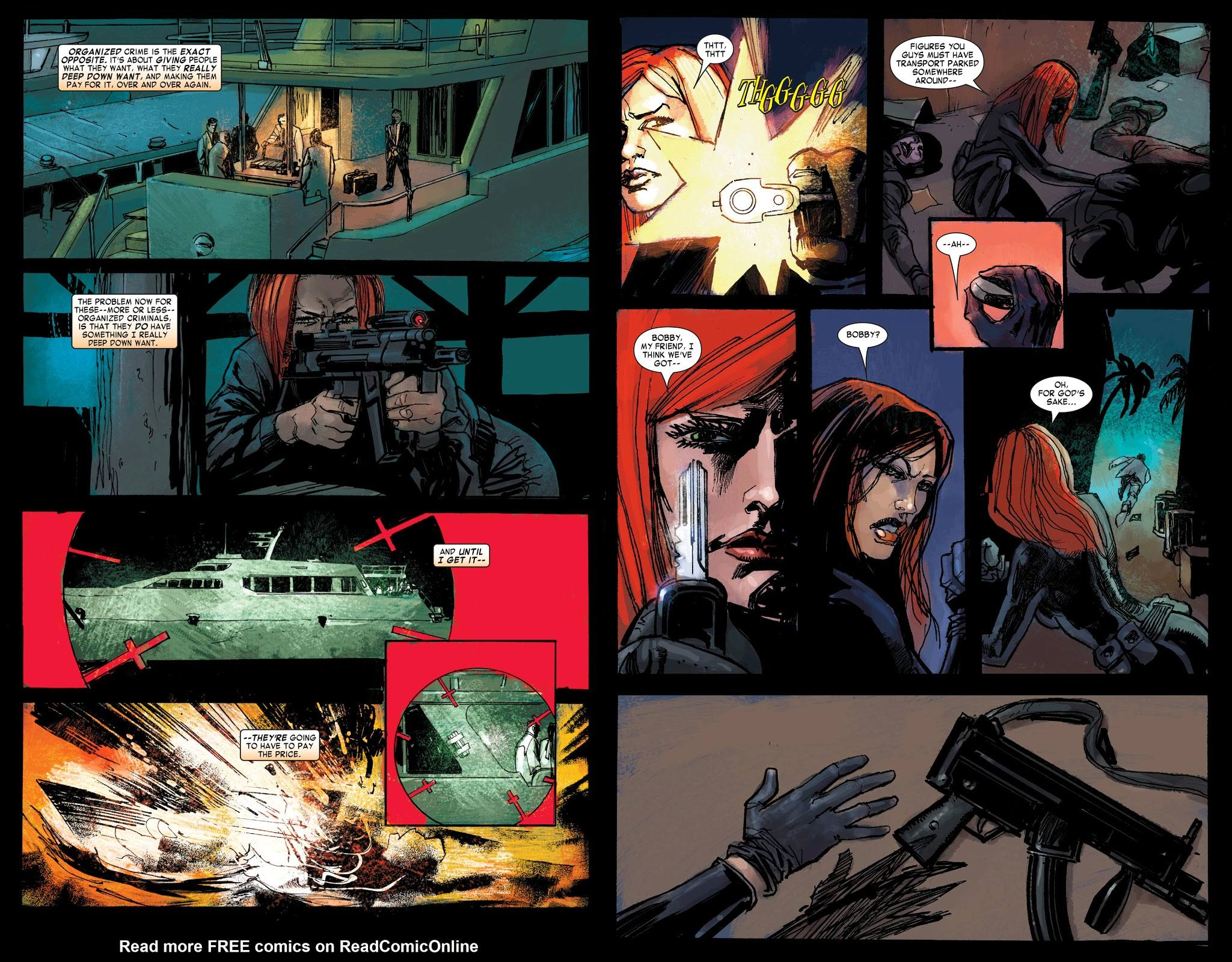 Black Widow The Things They Say About Her review