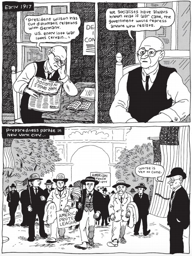 Eugene V. Debs A Graphic Biography review