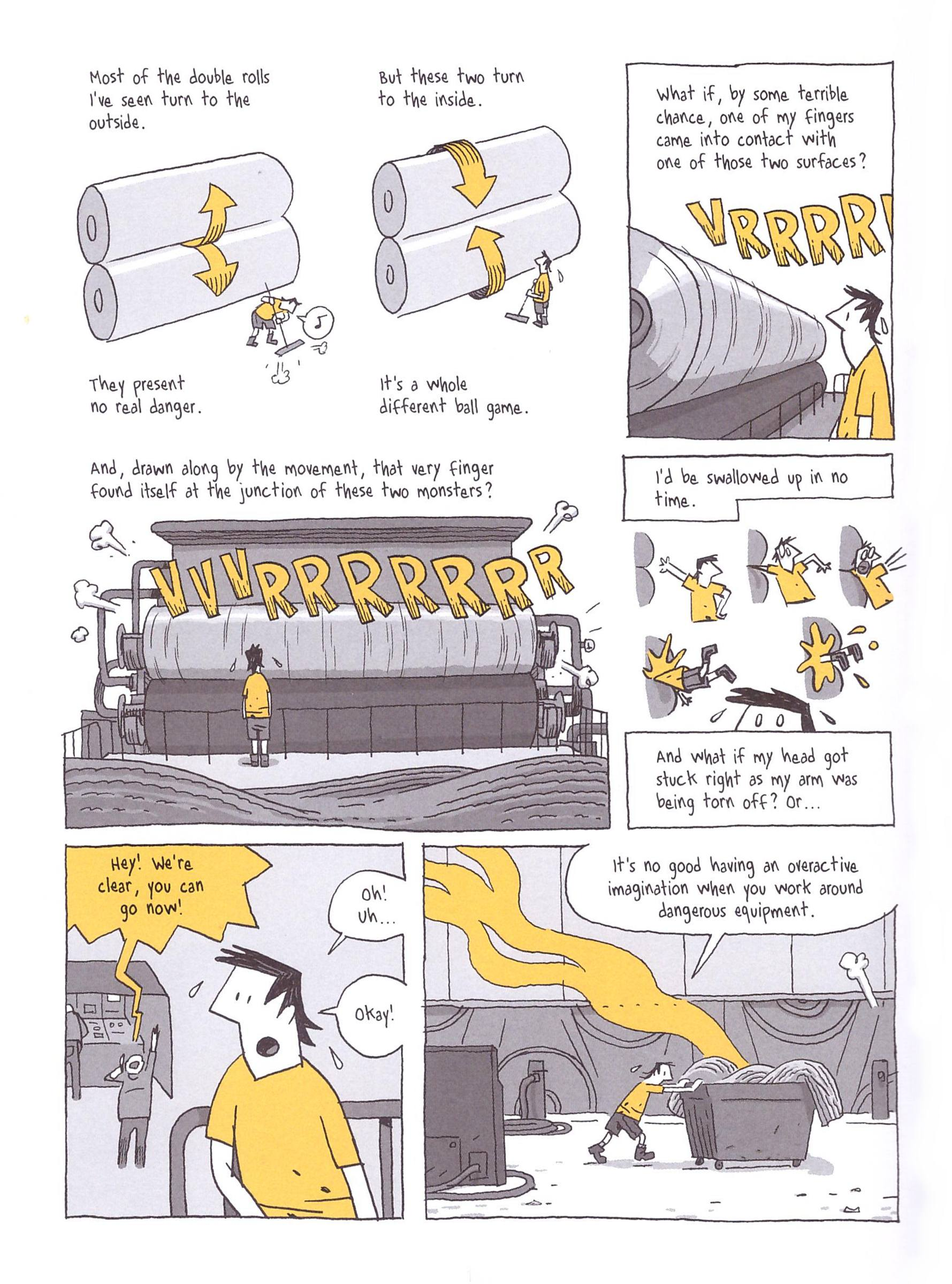 Factory Summers graphic novel review