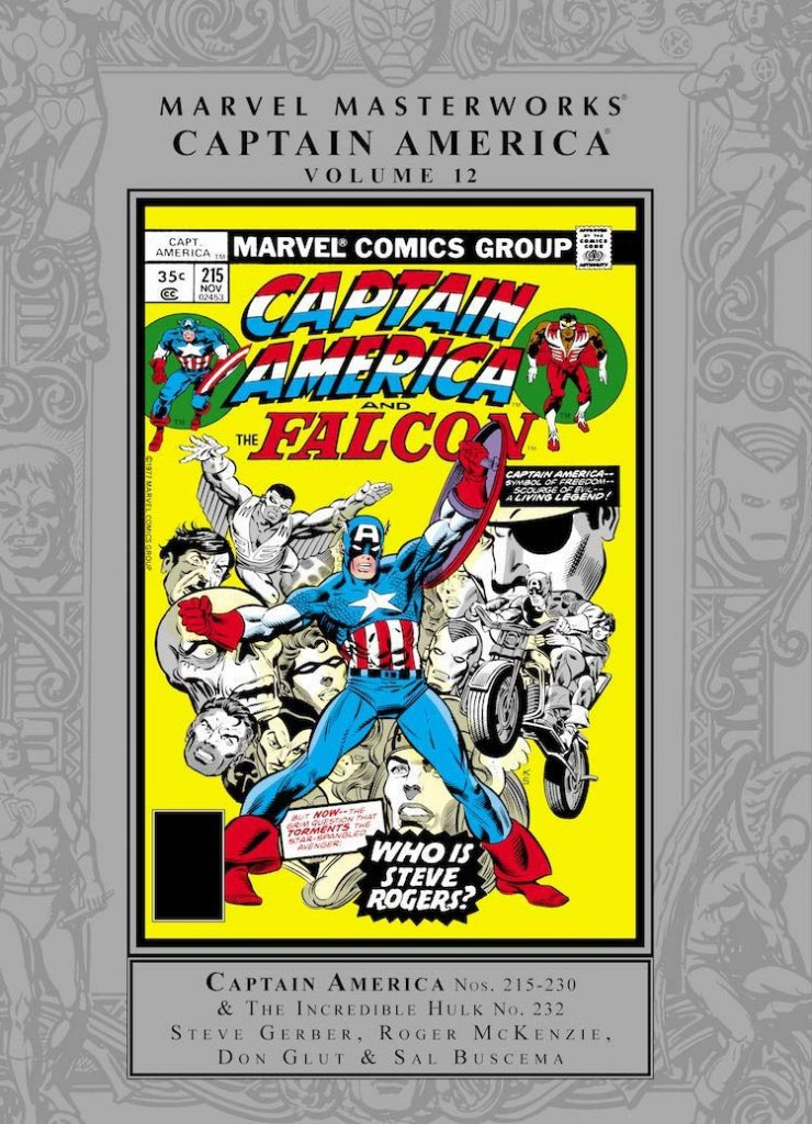 Marvel Masterworks: Captain America Volume 12