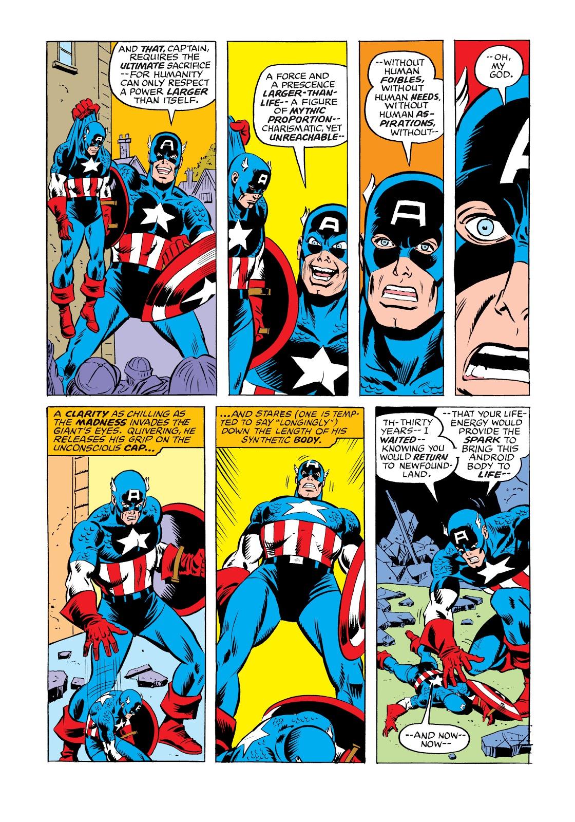 Marvel Masterworks Captain American Vol 12 review