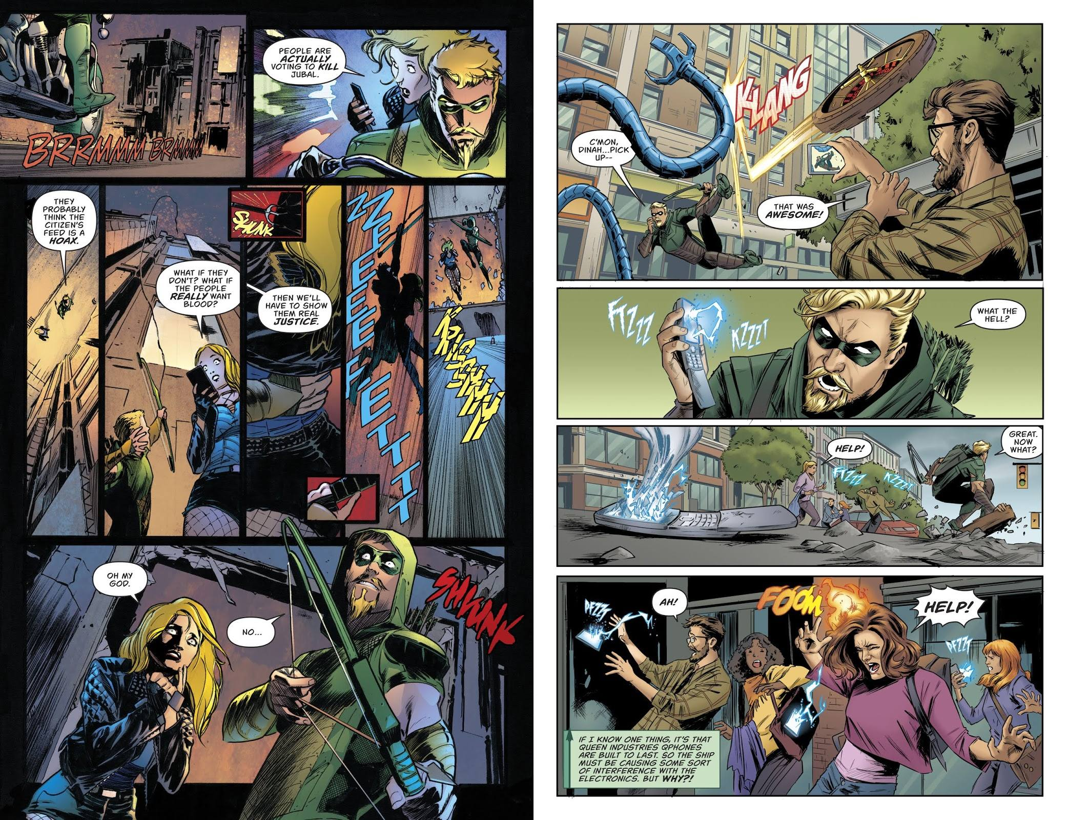 Green Arrow Citizen's Arrest review