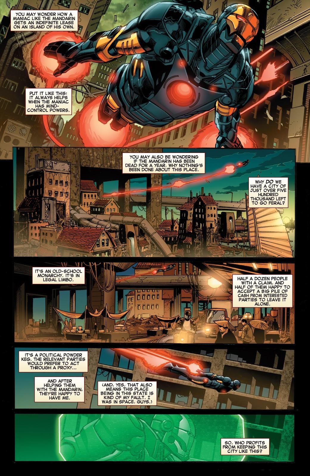 Iron Man Iron Metropolitan review