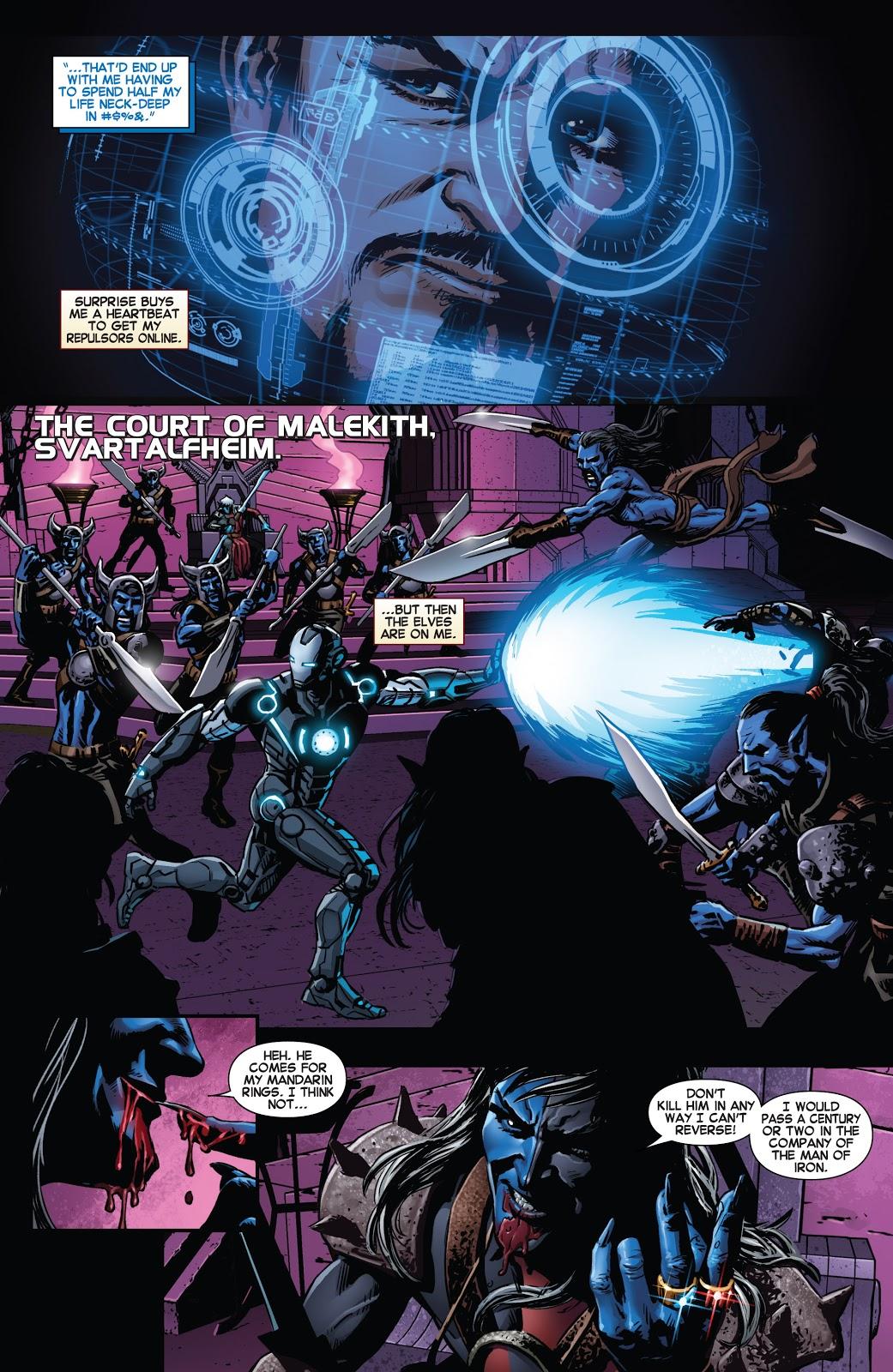 Iron Man Rings of the Mandarin review