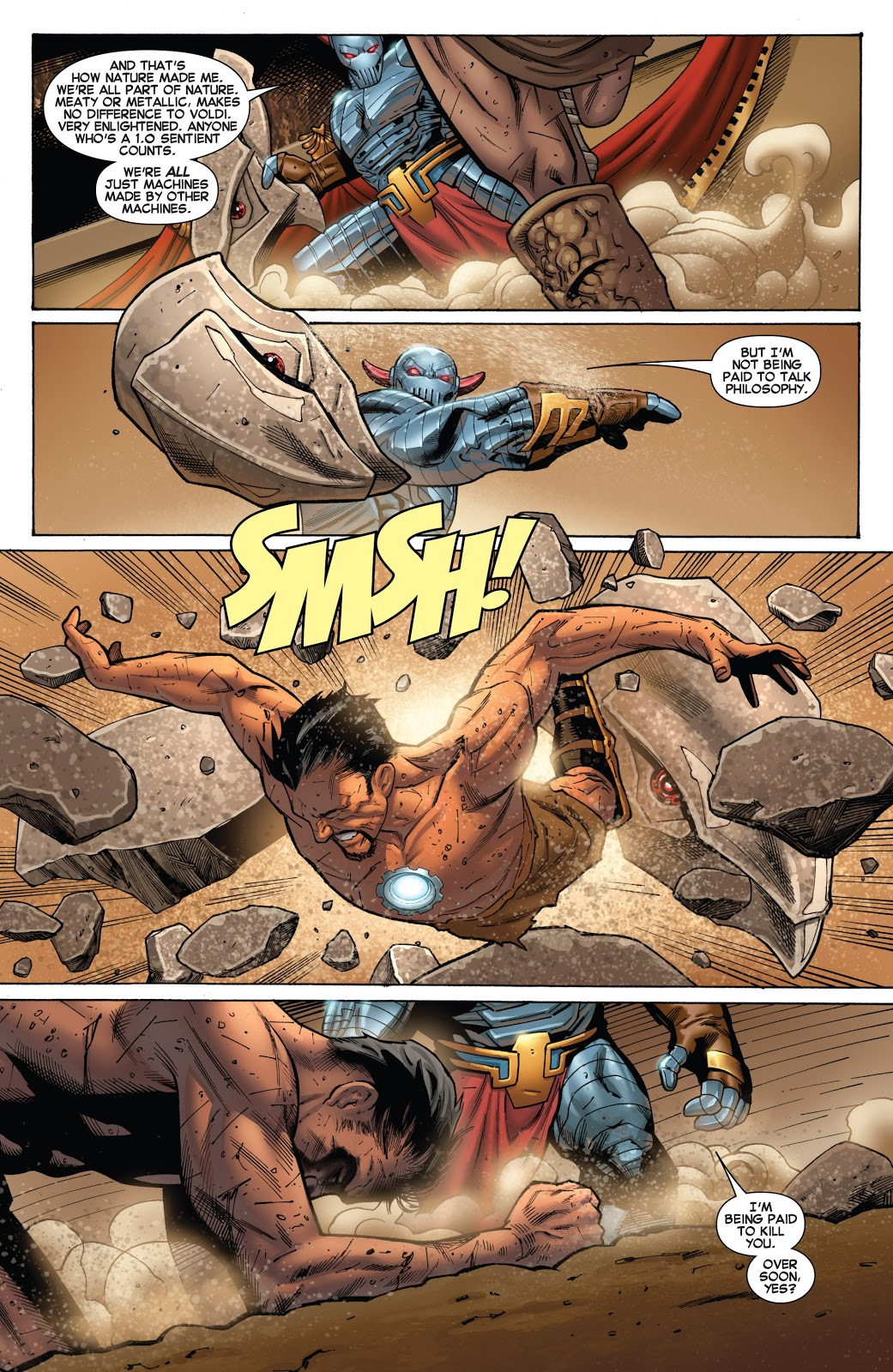Iron Man The Secret Origin of Tony Stark Book 1 review