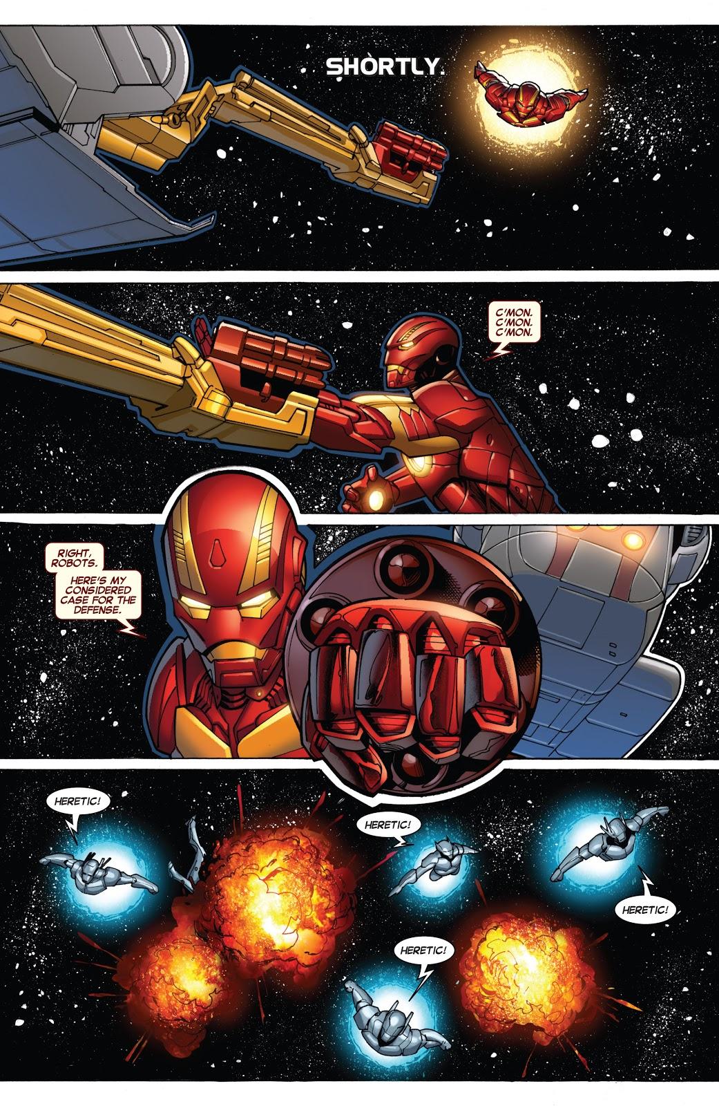 Iron Man The Secret Origin of Tony Stark Book2 review