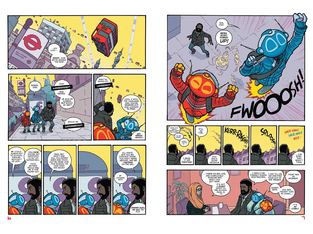 Mega Robo Bros Double Threat review