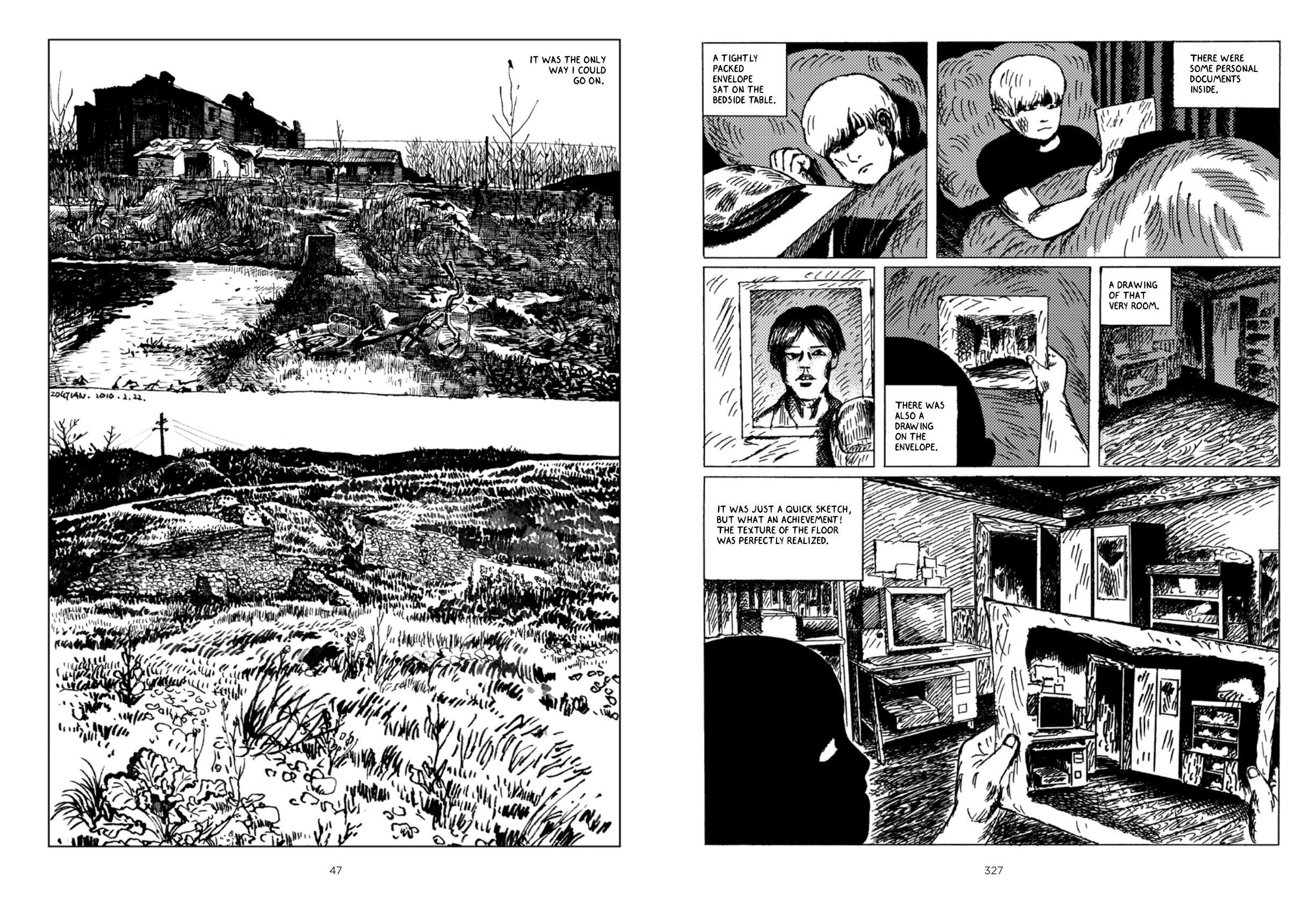 Night Bus graphic novel review
