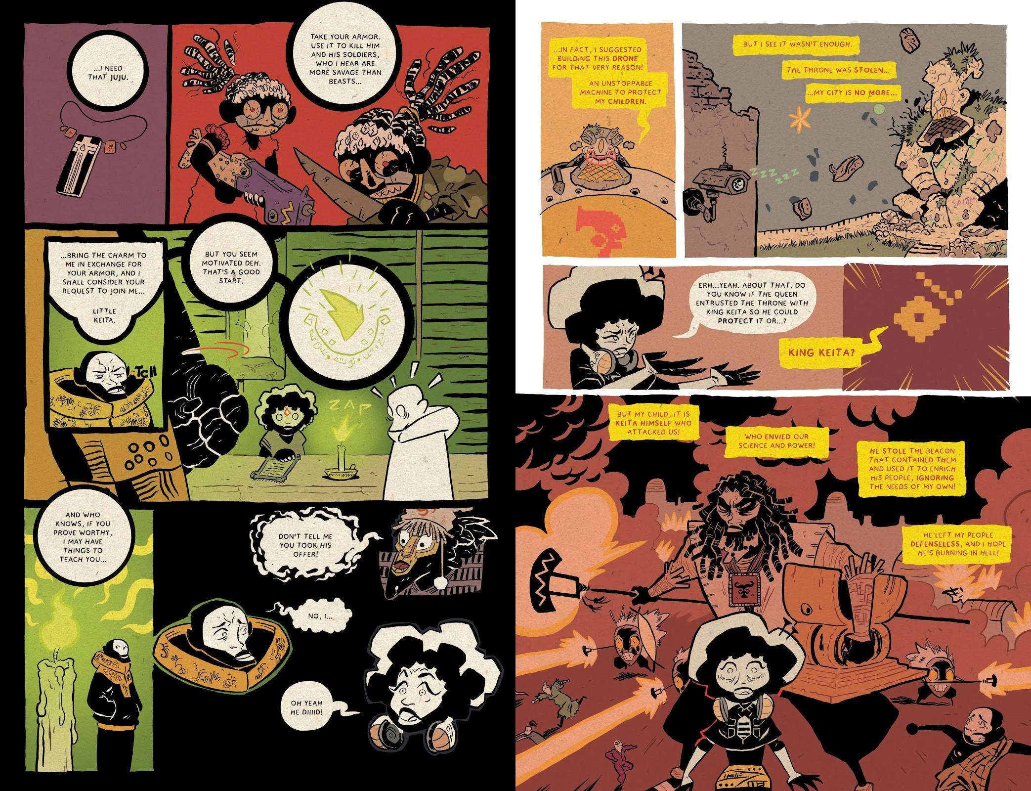 Djeliya graphic novel review