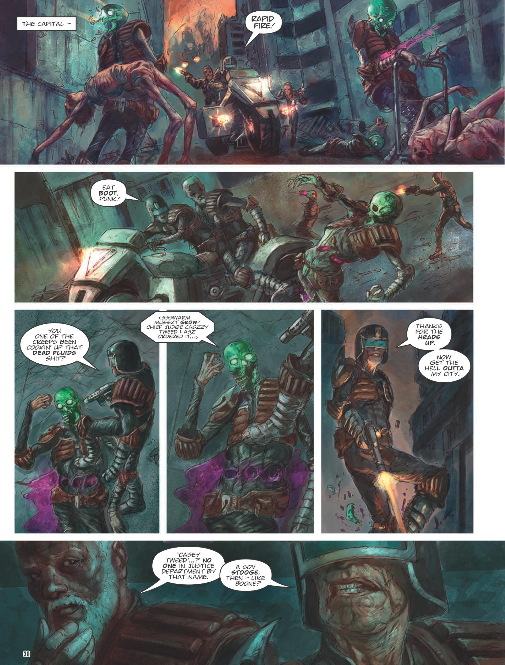 The Dark Judges Fall of Deadworld Book III review