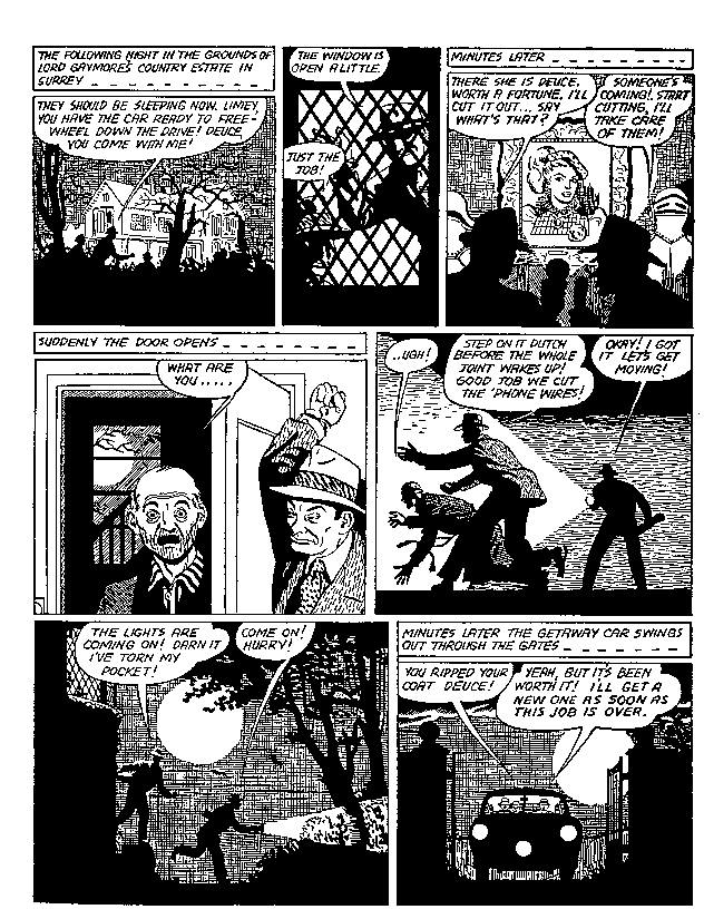 The Mammoth Book of Best Crime Comics review