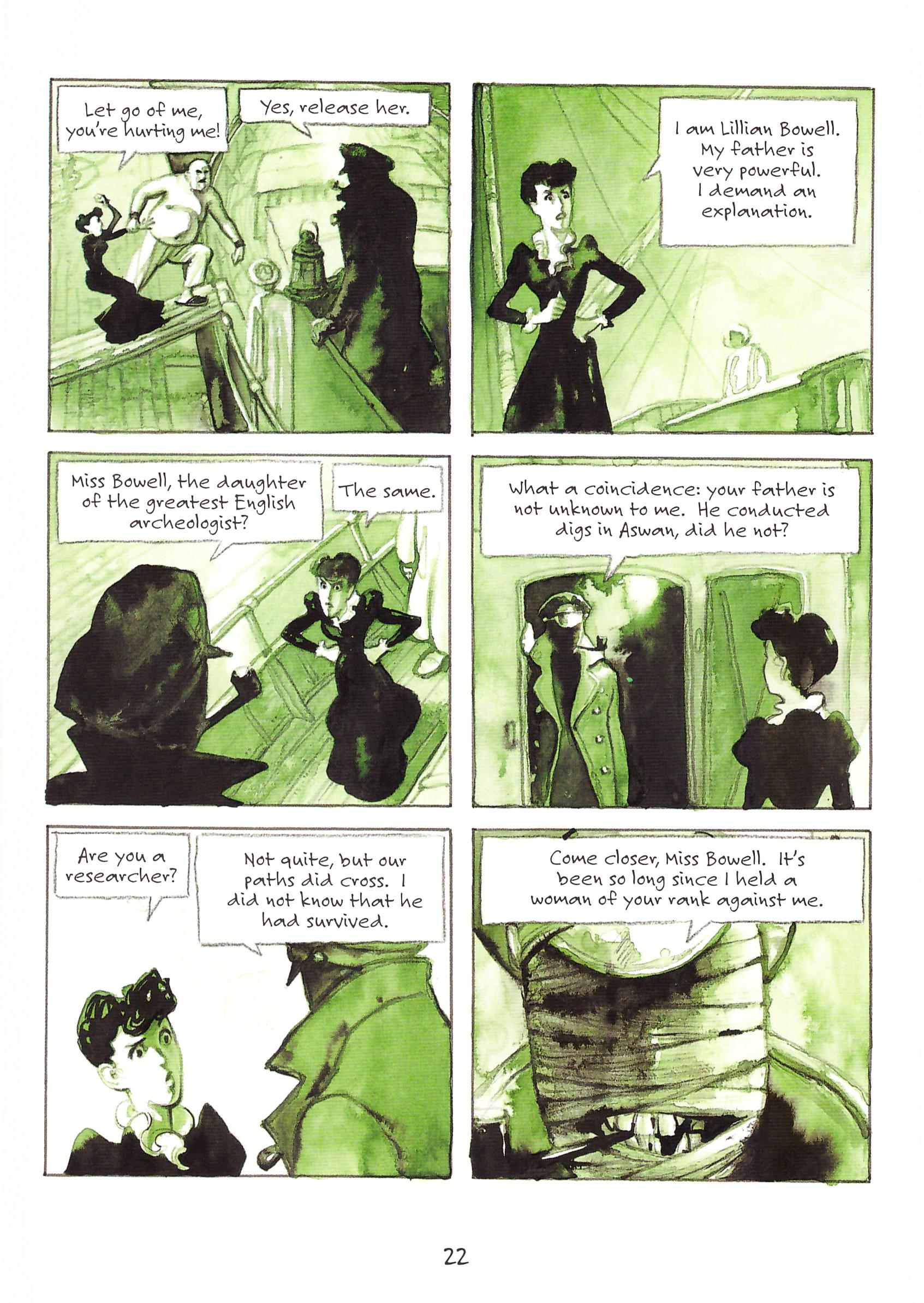The Professor's Daughter graphic novel review