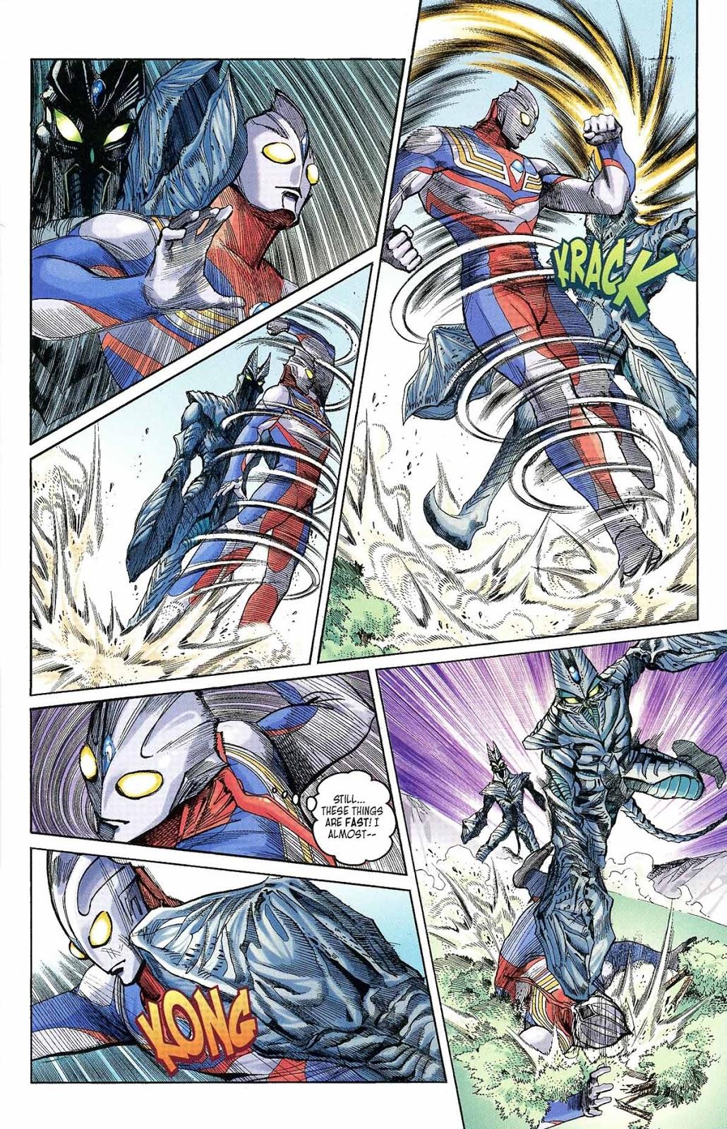 Ultraman Tiga Past Sins, Future Dangers review